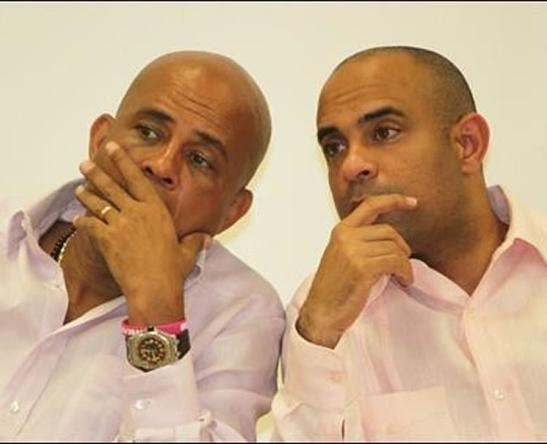 Michel Martelly and Discharge for former Prime Minister Laurent Lamothe