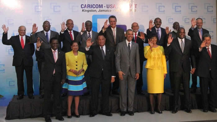 Sommet CARICOM-USA i la Jamaïque