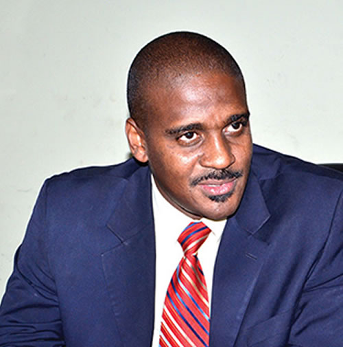 Newton Louis Saint Juste candidate for President of Haiti