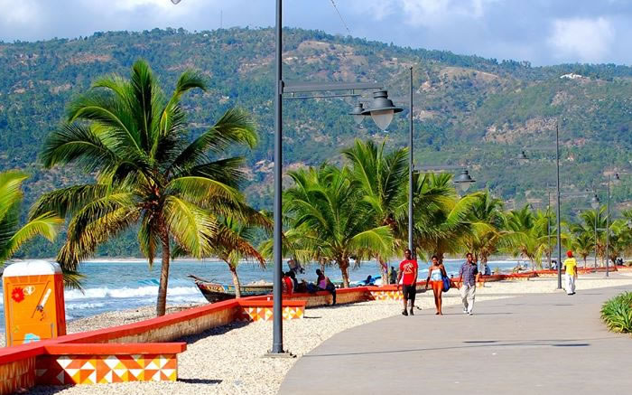 Waterfront Boulevard in Jacmel