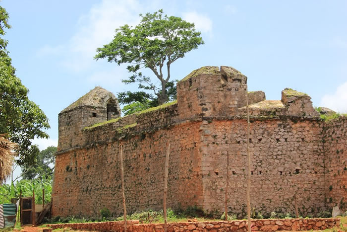 Fort Oge in Jacmel, Haiti