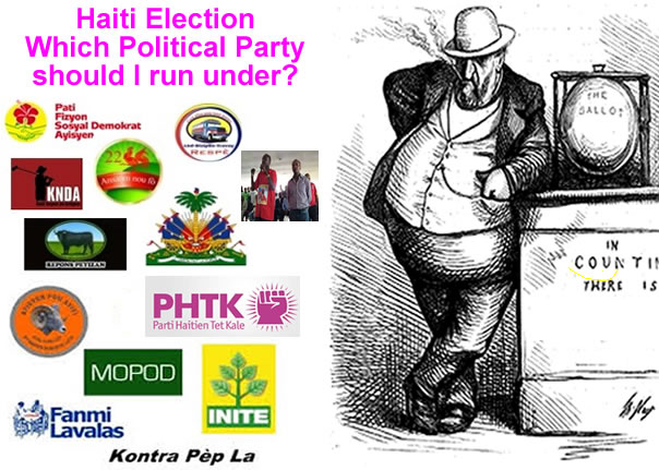 Close to 200 Political parties registered for election in 2015 Haiti Election