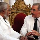 Daniel Supplice delivered credentials to Danilo Medina