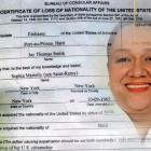 Certificate of Loss of Nationality of the US for Sophia martelly