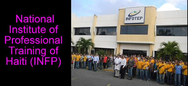 INFOTEP and National Institute of Professional Training of Haiti (INFP)