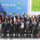 President Martelly at the Caribbean Climate Summit 2015