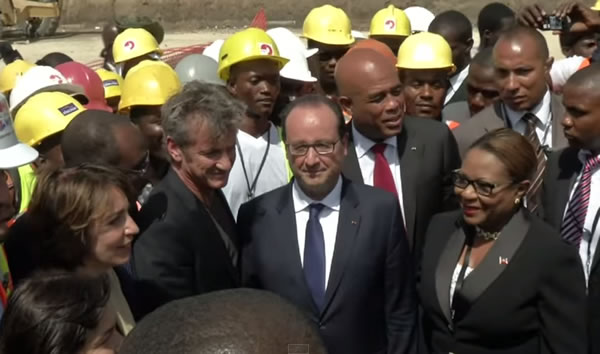 France to build high school in Coteaux, Francois Hollande Visit