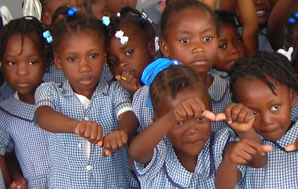 Most young children in Haiti will only see a hard life