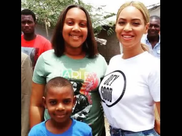 Beyonce visits Haiti with United Nations to see progress