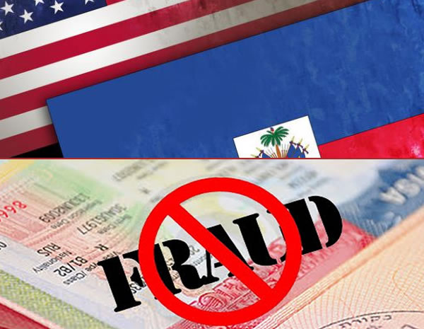 U.S. Visa fraud by Haitians providing false documents or information