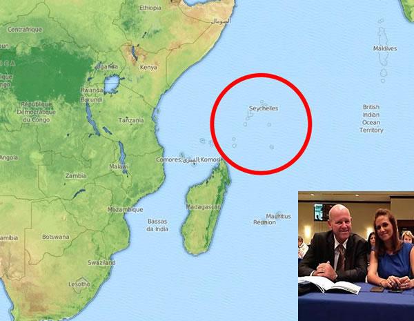 Seychelles Tourism Minister in Haiti