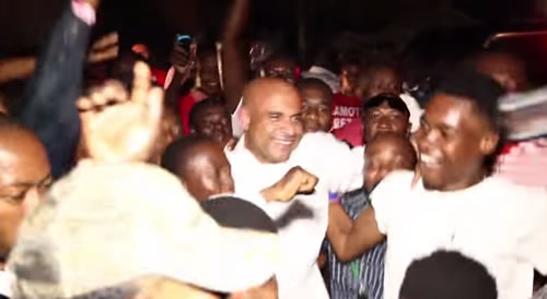 Laurent Lamothe submitted papers to run for president of Haiti
