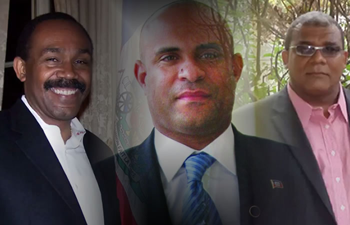 Laurent Lamothe registered at CEP by Stanley Lucas and Ralph Théano