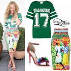 Beyonce wearing Haitian designer Stella Jean creations