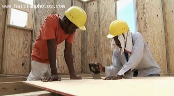 Picture Of Haitian Building Home