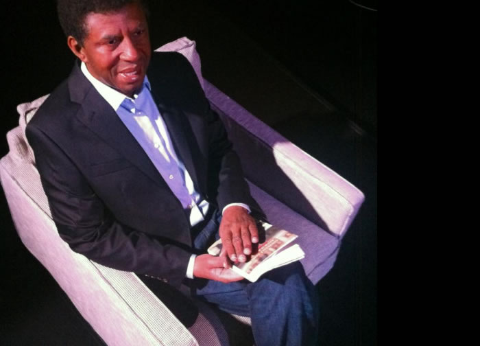 Wax statue of Dany Laferriere unveiled at the Grevin Museum in Montreal