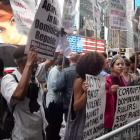 NY Dominicans Protest Haitian Deportations in Dominican Republic