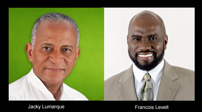 CEP rejected candidacy of Jacky Lumarque and Francois Levelt