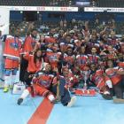 Haiti's national street hockey team, a winner