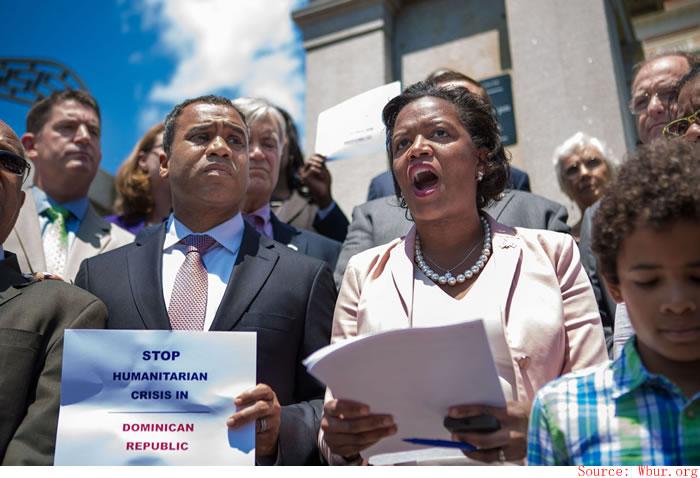 Linda Dorcena Forry denounced Haitian expulsion in DR