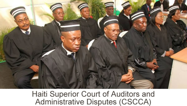Haiti Superior Court of Auditors and Administrative Disputes (CSCCA)