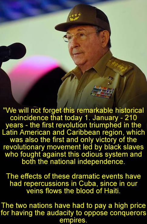 Haiti can always count on Cuba, Raul Castro