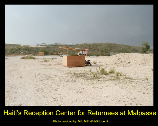 Haiti's Reception Center for Returnees at Malpasse