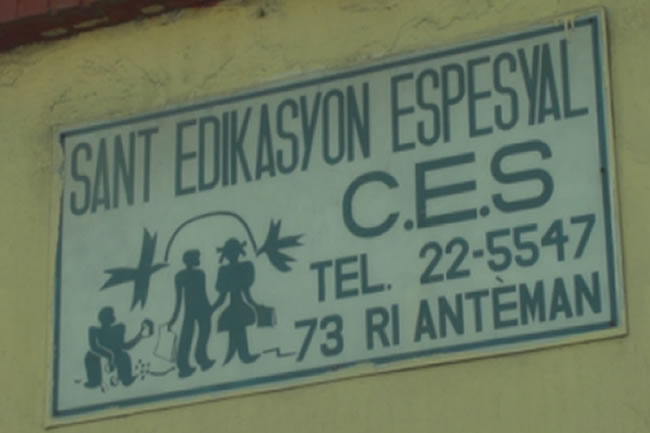 CES, Haiti's Only Free School for Children With Disabilities