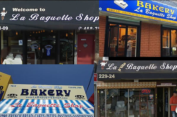 La Baguette Shop in New York