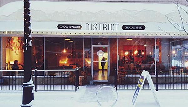 The District Coffee House - Original Haitian Coffee