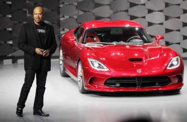 Haitian Ralph Gilles, new Global Design Chief for Fiat-Chrysler