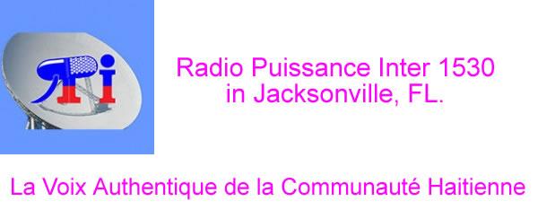 Radio Puissance Inter 1530 in Jacksonville, FL.