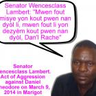 Senator Lambert Wencesclass assault on Daniel Theodore
