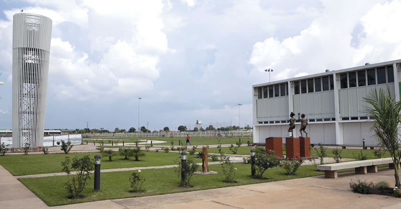 Haiti  Olympic multi-sports complex first anniversary