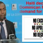 Haiti declines Dominican Republic demand for apology