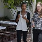 Chelsea Clinton with Clinton Foundation In Haiti