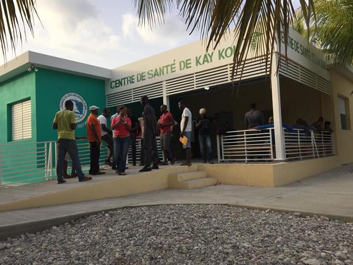 Santre de Sante Kay Kok in Ile-A-Vache