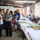 Chelsea Clinton at Caribbean Craft in Port-au-Prince