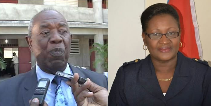 Victor Benoit and Yves Rose Myrtil Morquette resigned