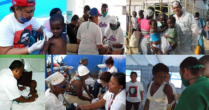 Work of Cuban Medical Brigade in Haiti