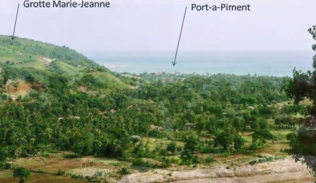 Grotte Marie-Jeanne in Port-à-Piment, Haiti