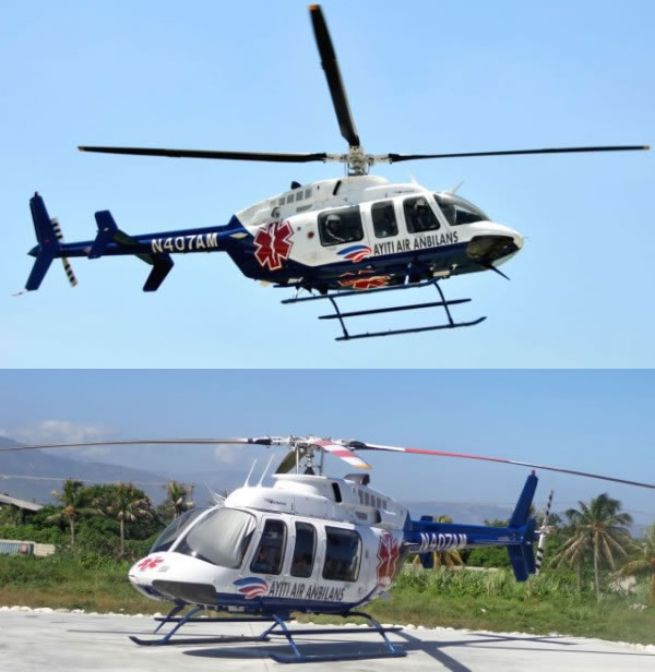 Non-profit Haiti Air Ambulance mission