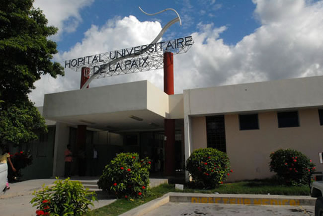 Hospital Universitaire de la Paix, Delmas