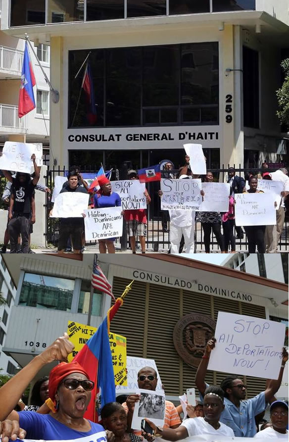 Haitian Activist Groups Stage Parallel Protests in Miami