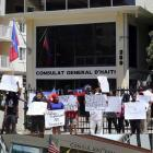 Haitian Activist Groups Stage