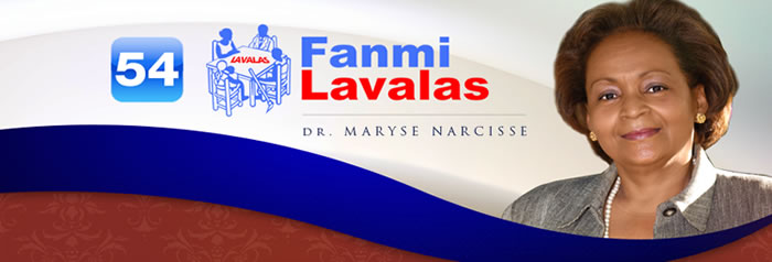 Dr. Maryse Narcisse, presidential candidate, Fanmi Lavalas