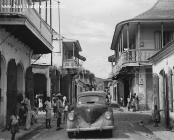 Streets Of Cap-Haitian