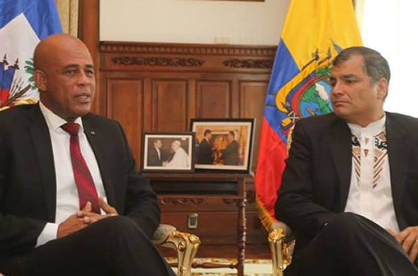 Ecuador to regulate illegal Haitian Immigrants