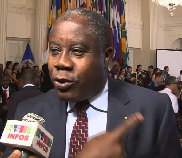 new interim Chancellorof Haiti, Lener Renauld