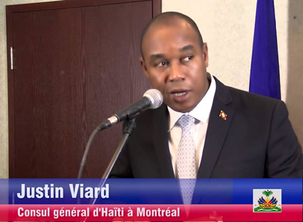 Justin Viard fired as Consul General of Haiti in Montreal